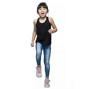 Calça Legging Live Infantil Jeans