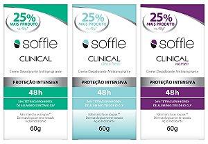 Kit Soffie CLINICAL - 3 fragrâncias