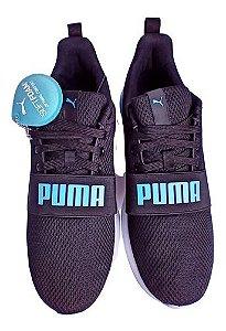 Tênis Puma Anzarun Lite Bold - Unissex - Preto e Azul