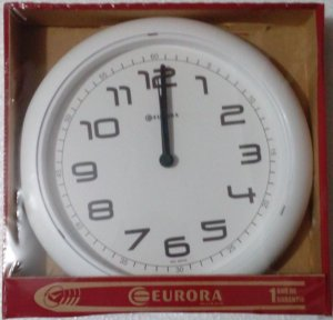 Relógio de Parede Eurora 651700 Branco