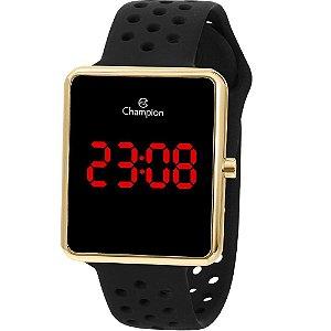 Relógio Champion Digital Led Ch40081V Dourado