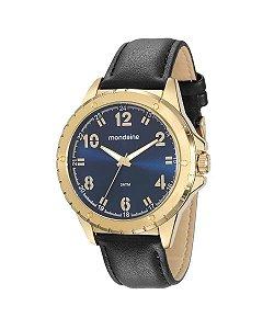 Relógio Masculino Mondaine Analógico 76676GPMVDH2 Dourado