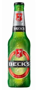 CERVEJA LONG NECK BECKS 330ML