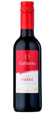 VINHO NACIONAL GALIOTTO TINTO SUAVE 750ML