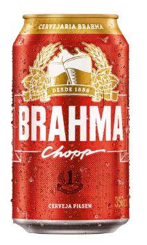 CERVEJA LATA CHOPP BRAHMA 350ML
