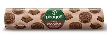 BISCOITO PIRAQUE RECHEADO CHOCOLATE 200G