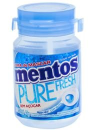 CHICLE PURE FRESH MENTOS MINT 56G