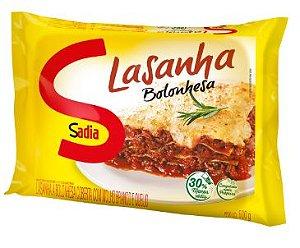 LASANHA SADIA BOLONHESA 600G