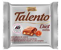 CHOCOLATE BARRA GAROTO TALENTO DIET AVELÃ 25G
