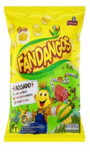 SALGADINHO ELMA CHIPS FANDANGOS QUEIJO 164G