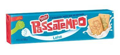 BISCOITO NESTLE PASSATEMPO AO LEITE 150G