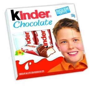 CHOCOLATE KINDER CHOCOLATE 50G
