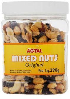 CASTANHA SALGADA MIXED NUTS CAJÚ 390G
