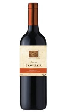 VINHO CHILENO TRAVESSIA CARMENERE 750ML