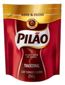 CAFE PILAO ABRE E FECHA 250G TRADICIONAL