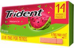 CHICLETE TRIDENT 14S FRESH 25,2G MELANCIA