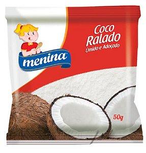 COCO RALADO MENINA UMIDO 50G