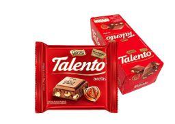 CHOCOLATE BARRA GAROTO TALENTO AVELÃ 25G