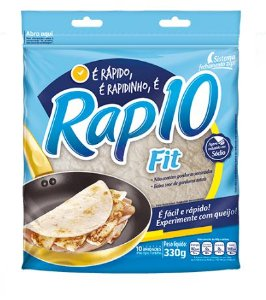 PÃO RAP 10 FIT 330G