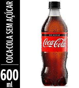 REFRIGERANTE COCA COLA ZERO 600ML