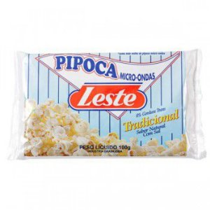 PIPOCA LESTE MICROONDAS TRADICIONAL 100G