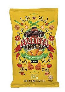 TORTILLA FRONTERA CHIPS QUEIJO 125G