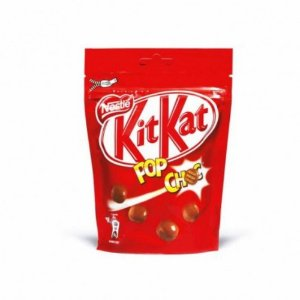 CHOCOLATE KIT KAT SACHE POP 140G