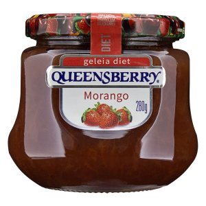 GELEIA QUEENSBERRY 280G DIET MORANGO