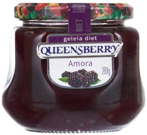 GELEIA QUEENSBERRY 280G DIET AMORA
