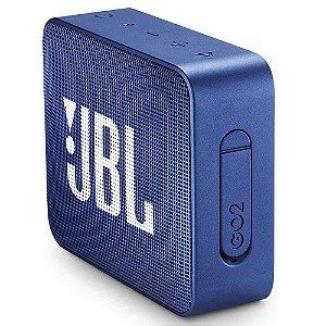 CAIXA DE SOM BLUETOOTH - IPX7 - JBL GO 2 - AZUL