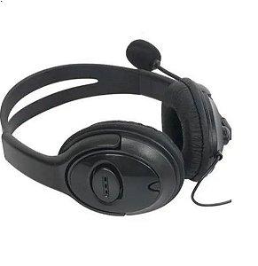 Fone De Ouvido Headset Xbox 360 Com Microfone E Volume 100mw