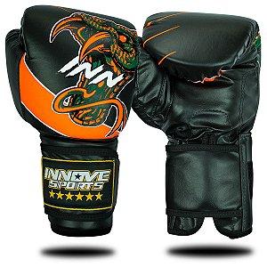 Luva de Boxe/Muay Thai Profissional Innove Bushmaster