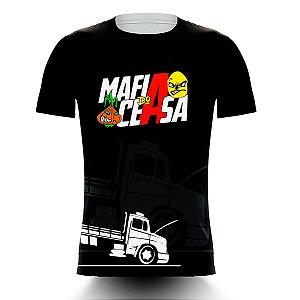 Camiseta Caminhoneiro Mafia do Ceasa