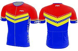 Camisa Ciclismo Zíper Longo INN Cycle Sport Ref.024