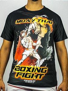 Camiseta Muay Thai Boxing Fight