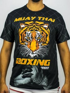 Camiseta Muay Thai Boxing Tiger