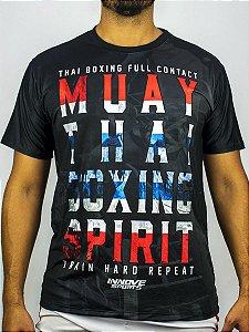Camiseta Muay Thai Boxing Spirit