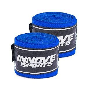 Bandagem Elástica Azul 3 METROS (1 PAR)