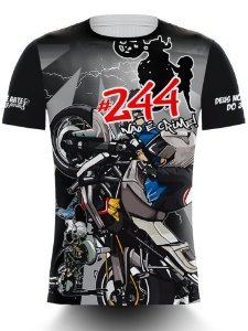 Camiseta 244 Não é Crime - Raios