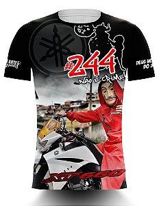 Camiseta 244 Não é Crime - XT660