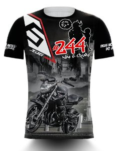 Camiseta 244 Não é Crime - XJ6