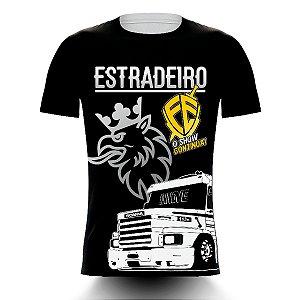 Camiseta Caminhoneiro Estradeiro