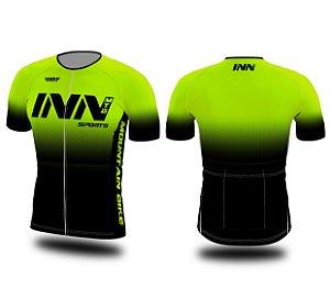 Camisa Ciclismo Zíper Longo INN Cycle Sport Ref.015