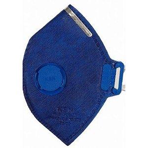 Respirador PFF1 KSN com Válvula Ca 10577 Pacote com 100 unidades