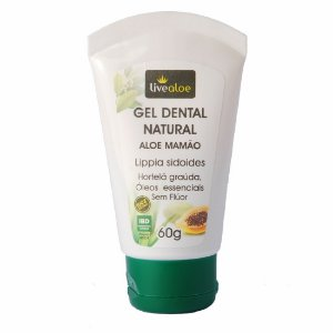 Gel Dental Natural Aloe Mamão