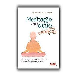 Livro Meditação em ação para crianças