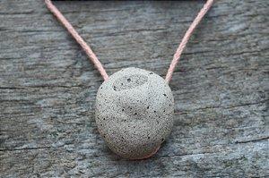 Colar difusor aromático - Pedra