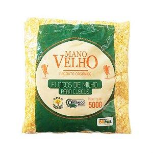 Flocão de Milho para Cuscuz Orgânico Coopirecê ou Mano Velho 500g