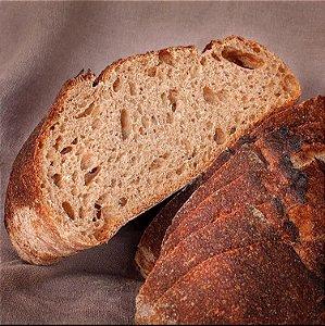 Pão de Fermentação Natural 100% Integral - 630g
