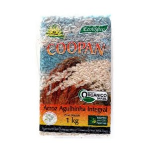 Arroz Integral Agulhinha COOPAN 1 Kg